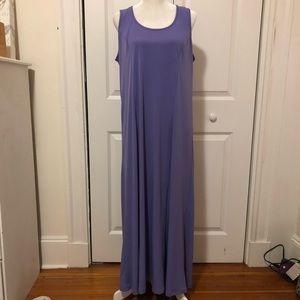 Susan Graver Dresses Liquid Knit Maxi Dress Poshmark